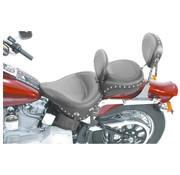 Mustang seat solo WIDE STUDDED W/DBRSTSoftail 2000-06 STandARD REAR TIRE