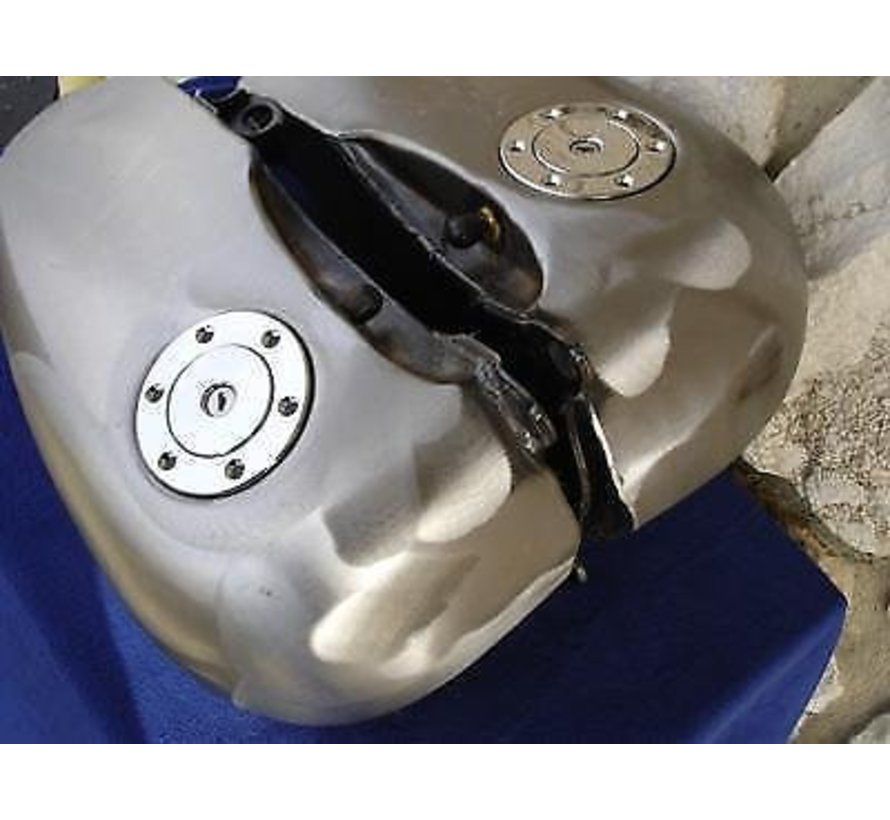 Harley Davidson gas tank gas cap 5 Gallon set for Midi Aero-style Softail  Evo 84-99