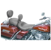 Mustang WIDE STUDDED SOLO W/BKRST                                              FLHR/FLHXROADKING   97-07 UP FL  SCREAMIN'EAGLE   97-05  FLHX STREETGLIDE 2006-07