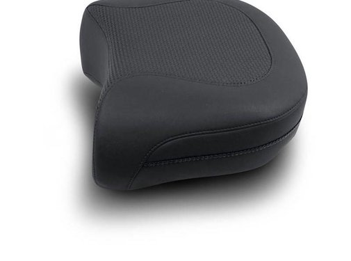 Mustang seat solo  Passenger Pillion Pad Textured Recessed Rear - FLHP