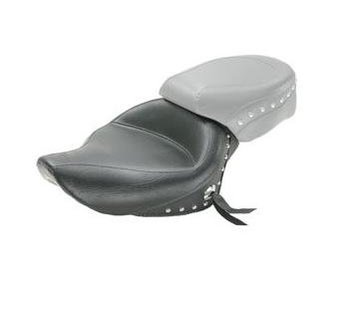Mustang seat solo WIDE STUDDED 3 3 GAL Sportster XL 2004-2017