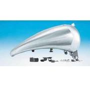 una sola pieza del tanque de gas de acero estirado de 2 pulgadas para los modelos Softail con soporte para tablero