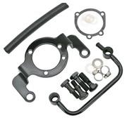Zodiac soporte de apoyo - Negro; cabe CV Carburador (Evo) y Delphi inyección (TwinCam)