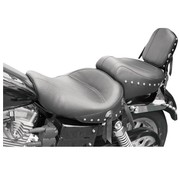 Mustang zadel Wide Touring One-Piece Studded - Dyna Glide 04-05