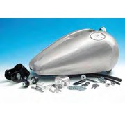 gas tank one piece rubber mounted Fat Bob