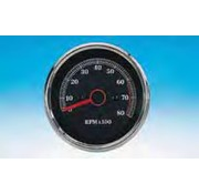 Zodiac handlebars mounted tachometer for 1985 to present Sportster XL