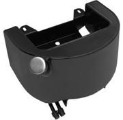 réservoir de réservoir d'huile - Black 89-99 Softail