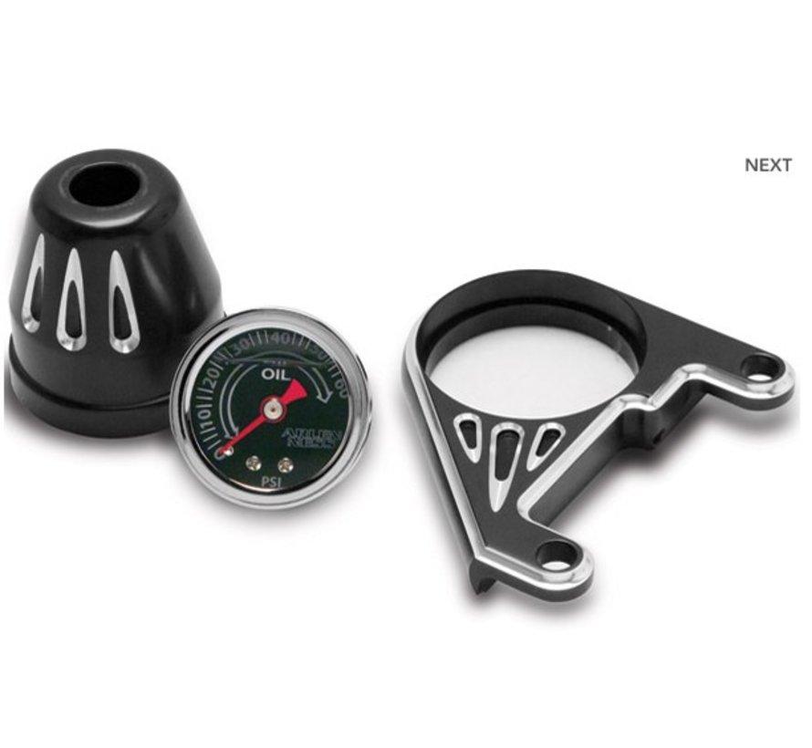 Harley Davidson Öldruckanzeige-Kit, tiefen Schnitt