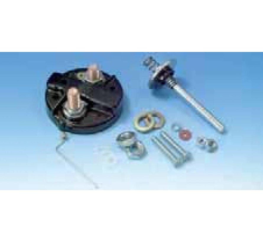 Starter solenoid repair kit Fits:> Big Twins 1965-1988 Sportster XL