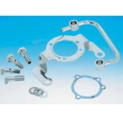 Carburetor Chrome aircleaner support bracket