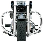 Cobra crash bar - engine guard Freeway Bar FAT FLSTC 00-16