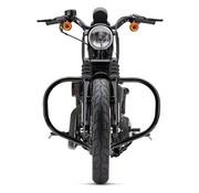 Cobra crashbar - motorbescherming Freeway Bar Zwart Sportster XL 04-16
