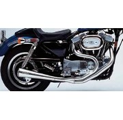 Supertrapp exhaust megaphone 2 into1 series Fits:> Evolution Sportster Sportster XL 1986 - 2003 except models with stock forward controls