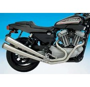 Supertrapp exhaust 2-into-2 tunable megaphone system for xr1200