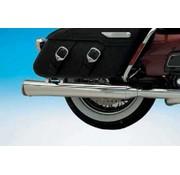 Supertrapp exhaust fat shot slip-on mufflers for Touring FLH/FLT