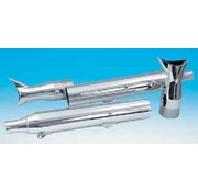 Supertrapp exhaust fishtail muffler set