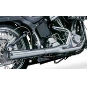 Kerker exhaust 2-into-1 supermegs for Softail and Dyna