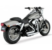 Vance & Hines exhaust shortshots staggered 91-14 Dyna