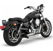 Vance & Hines exhaust staggered short shots Sportster XL Sportster XL 2 1/8 inch 99-13