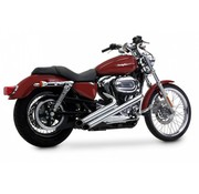 Vance & Hines exhaust sideshots Sportster XL