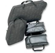 Saddlemen tassen Zadeltas 4-delige voering set polyester Touring FLH / FLT