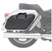 Saddlemen Saddlebag doublure polyester fixé Harley Davidson - Convient à: FLD Dyna Switchback Année 2012-2014
