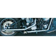 Paughco exhaust drag pipes for 1984 - 1999 Softails and 1985 - 1986 FX / FXWG 4 Speed (only 1 left in stock)