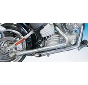 Cycle Shack uitlaat 1 3/4 inch & 2 inch open uitlaten voor rocker