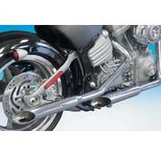 Cycle Shack uitlaat 1 3/4 inch onbenullige plakdemperpijpen voor rocker