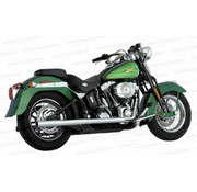 Vance & Hines exhaust true duals Fits:> Softail 87-11