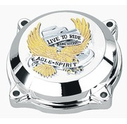 TC-Choppers Carburateur Live to ride Eagle bovendeksel CV 40 / 44mm - Goud