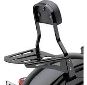 Cobra luggage rack formed style black for Cobra Sissy bar