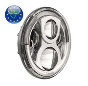 Speaker headlight LED headlamp unit 7 inch Chrome or Black