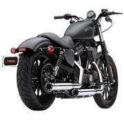 Cobra uitlaat RPT slip-ons Geluiddempers 3 inch Chroom of Zwart Past op:> 14-16 Sportster XL