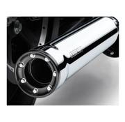 Cobra exhaust RPT Slip-On Mufflers Chrome or Black for 07‑16 FXST/B/C FLSTC FXCW/C