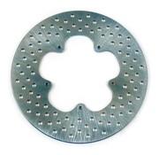 Edelstahl gebohrt Bremsscheibe 11,5 Zoll vorne - 74-77 XL, FX