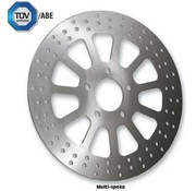 TRW brake rotor multi-spoke Front - 2000-up Big Twin Sportster XL excepts Springers FXDL FXDS FXDX