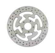 MCS rotor del freno delantero Wafe Malla de acero de 300 mm (11.8inch) - Se adapta a: 08-16 FLHT, FLHR, FLHX, FLTR, H-D FL triciclo, 14-16 FLHRC