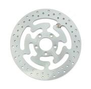 MCS rotor trasero de freno de acero de 300 mm Wafe (11.8inch) - Se adapta a: 08-16 FLHT, FLHR, FLHX, FLTR, H-D FL triciclo, 14-16 FLHRC