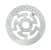 TC-Choppers brake rotor rear Wafe Steel 300mm (11.8inch)- Fits:> 08‑16 FLHT FLHR FLHX FLTR H‑D FL trike 14‑16 FLHRC