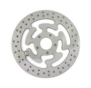 MCS brake rotor Rear Wafe Stainles Steel 300mm (11.8inch)- Fits:> 08‑16 FLHT FLHR FLHX FLTR H‑D FL trike 14‑16 FLHRC