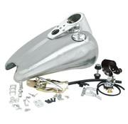 benzine tank 2 inch uitgerekte rubberen sportbob Past op:> 95-03 Sportster XL