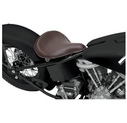 TC-Choppers seat solo Spring Large Front Leather Brown