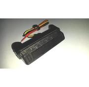 MCS mini LED luz trasera, adapta a: UNIVERSAL - Humo