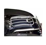 Motherwell 7 pouces Chrome Solo Porte-bagages pour les modèles Touring 97-up