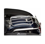 Motherwell 7-Zoll-Chrom-Solo Gepäckträger für Touring Modelle 97-up