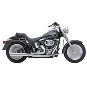 Cobra HP Power Pro 2 en 1 Sistema de escape, Chrome 86-06 Softail