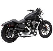 Cobra exhaust Speedster short Swept Chrome Sportster XL 14-16