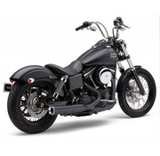 Cobra Power Pro RPT 2 en 1 sistema de escape, Negro Sportster XL 07-13