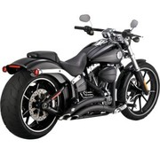 Vance & Hines Big rayon noir unique: 13-16 breakout FXSB/SE